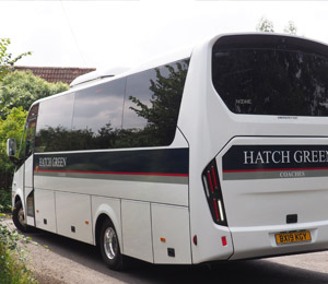 Luxury, air conditioned, coaches